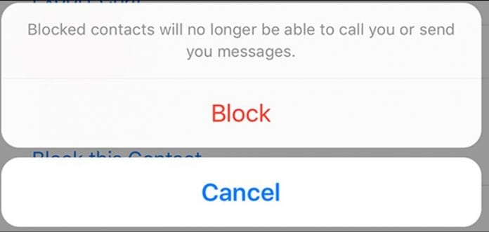 message someone on WhatsApp who has blocked you