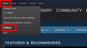 share Steam Games through Steam Family Sharing
