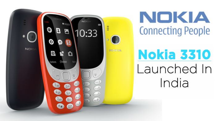 New Nokia 3310 Launched In India At Rs 3,310!