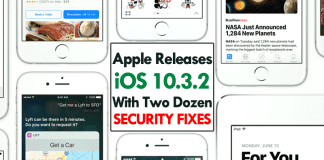 Apple Releases iOS 10.3.2 With Two Dozen Security Fixes