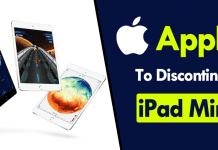 Apple Will Soon Discontinue Its iPad Mini