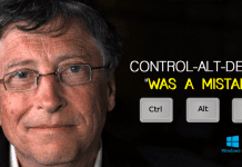 "Bill Gates: Control-Alt-Delete ""Was A Mistake"""