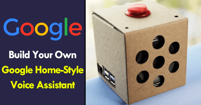 Build Your Own Google Home-Style Voice Assistant For Only $50