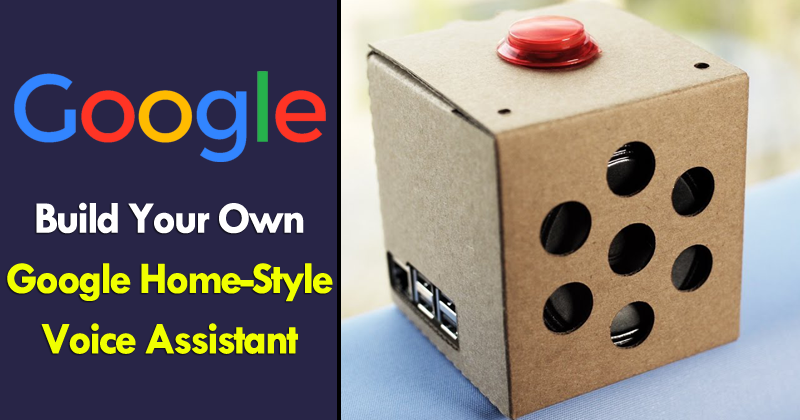 build your own google home style voice assistant for only 50. Black Bedroom Furniture Sets. Home Design Ideas