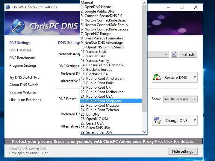download dns benchmark gratis