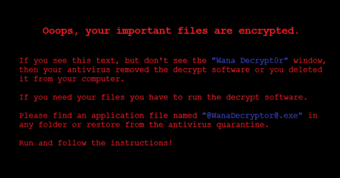 Massive WanaCrypt0r Ransomware Attack Hits 99 Countries Around The world