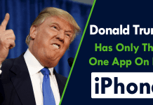 Donald Trump Has Only This One App On His iPhone