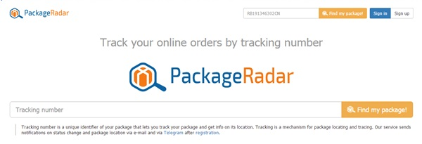 Easily Track Almost Any Package Online
