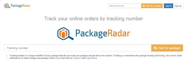 PackageRadar