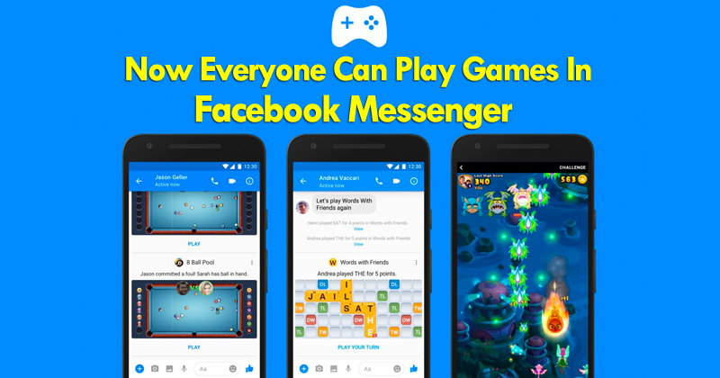 facebook messenger games not available