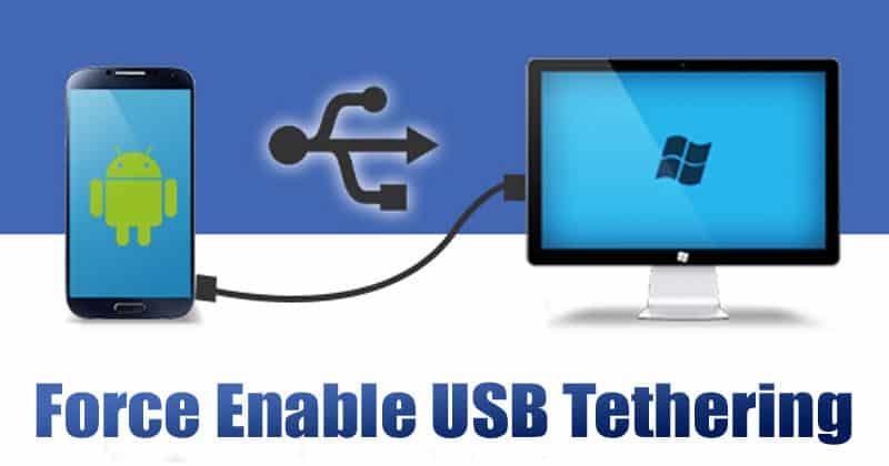 كيفية تشغيل ربط USB على هاتف Android