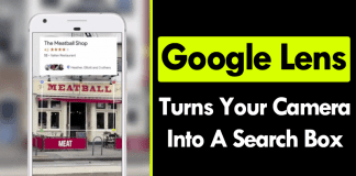 Google Lens Turns Your Camera Into A Search Box