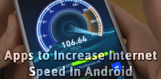Best Apps to Increase Internet Speed In Android 2018