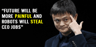 """Jack Ma: Future Will Be More """"Painful"""" And Robots Will Steal CEO Jobs"""
