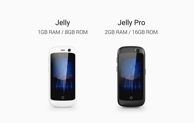Jelly - Meet The World's Smallest 4G Smartphone