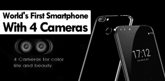 Meet The World's First Smartphone With Four Cameras