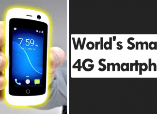 Meet The World's Smallest 4G Smartphone