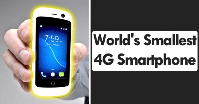 Meet The World's Smallest 4G Smartphone
