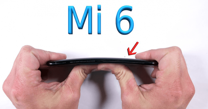 Xiaomi Mi 6 Survives Durability Test - Watch The Video