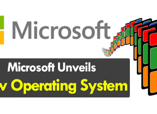 Microsoft Unveils New Operating System