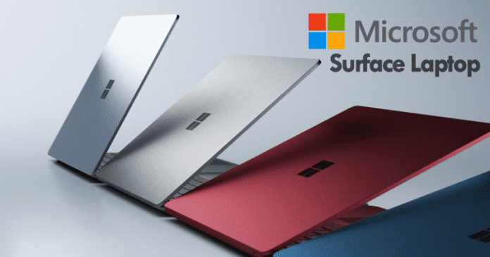 Microsoft Unveils New Surface Laptop And Education Tools