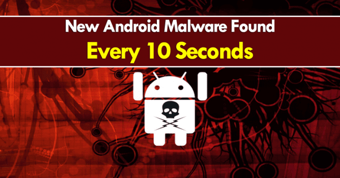 New Android Malware Found Every 10 Seconds: Report