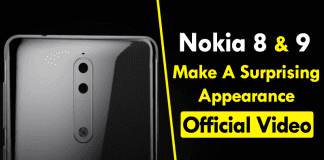 Nokia 8 & 9 Make A Surprising Appearance In An Official Video