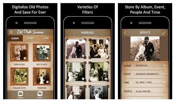 scan or photograph old photos