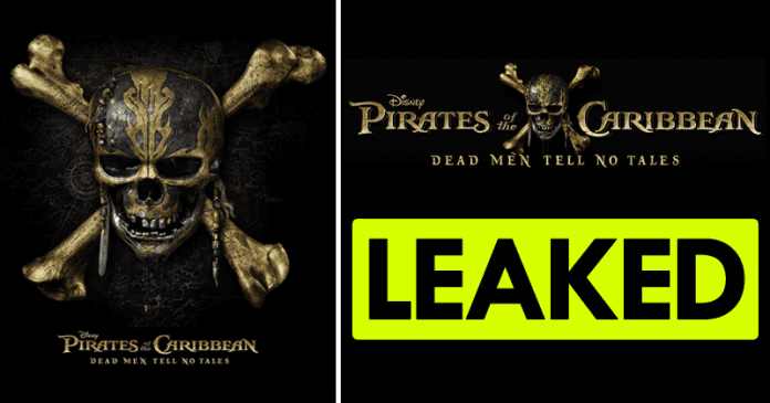 Pirates Of The Caribbean 5 Leaked On Torrent Sites In BluRay