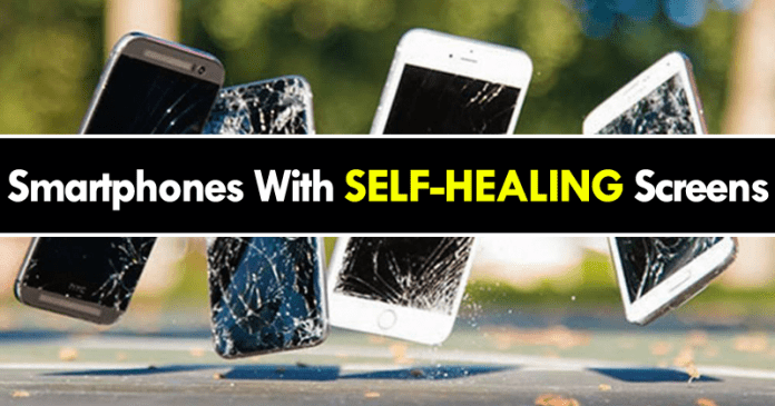Scientists Just Invented SELF-HEALING Screens