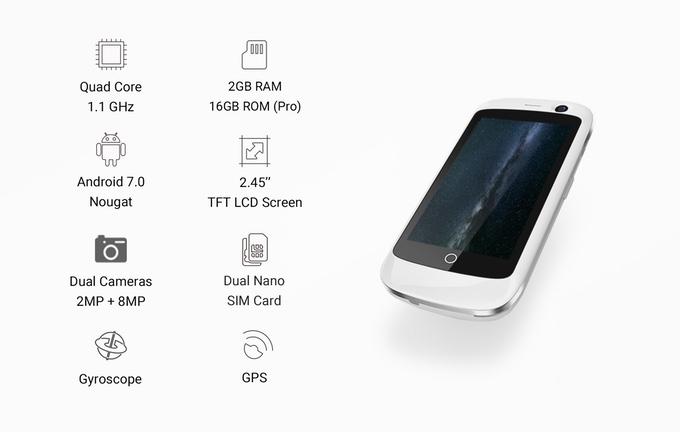 Specs - Meet The World's Smallest 4G Smartphone