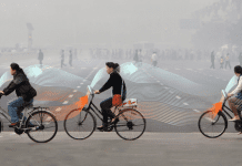 This Bicycle Purifies The Air To Reduce Pollution