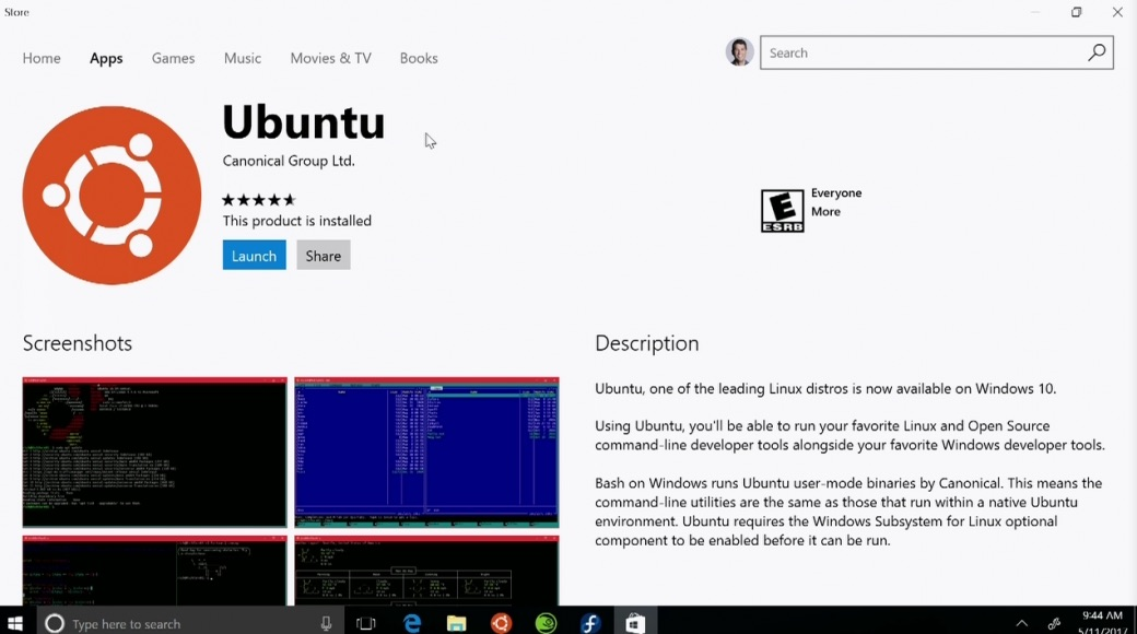 Ubuntu Linux Arrives In Windows Store