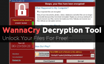 Free WannaCry Ransomware Decryption Tool Released! Unlock Files For Free