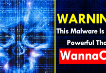 Warning! This Malware Is More Powerful Than WannaCry