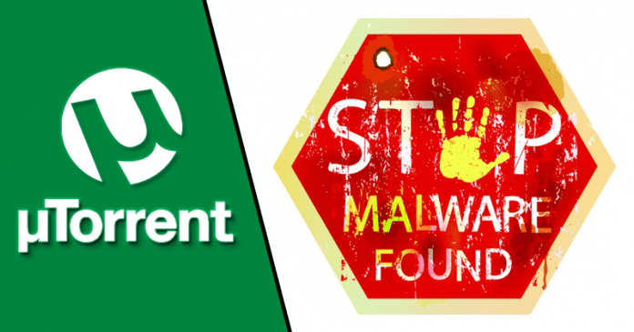 Warning! uTorrent Attempting To Download Malware