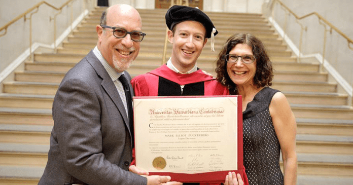 Mark Zuckerberg Finally Gets His Harvard Degree 13 Years After Dropping Out