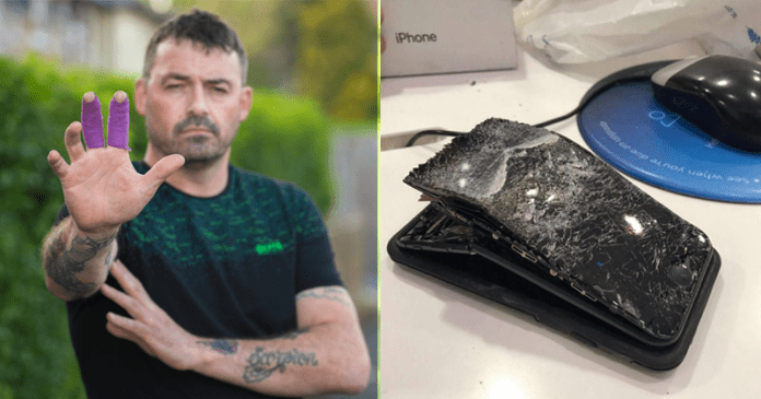 iPhone Explodes In Man's Hand, Causes Heavy Bleeding