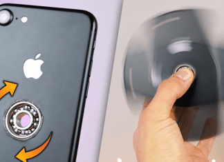 YouTuber Drilled A Hole Into iPhone 7 To Turn It Into A Fidget Spinner