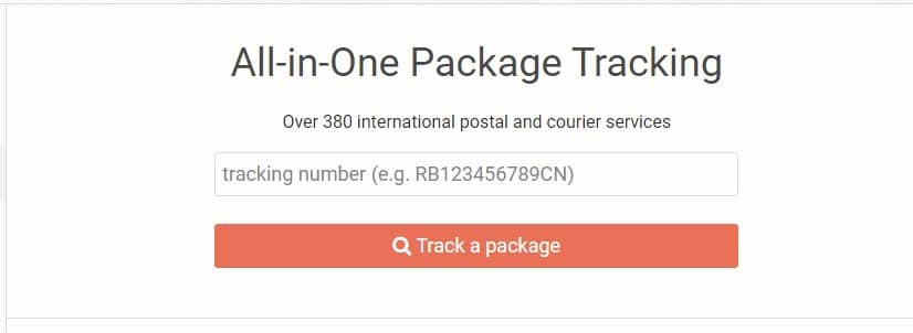 All-in-One Package Tracking