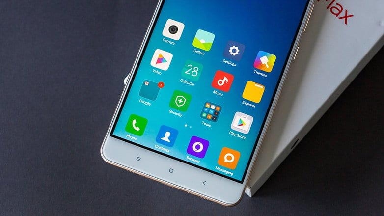 AndroidPIT xiaomi mi max buttons w782 - Xiaomi Mi Max Starts Getting Android 7.0 Nougat Update