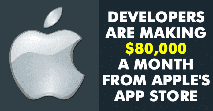 Here's How Developers Are Making Over $80,000 A Month From Apple's App Store