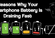 5 Reasons Why Your Smartphone Battery Is Draining Fast