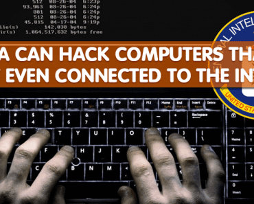 Here's How CIA Hacks Computers That Aren't Connected To The Internet