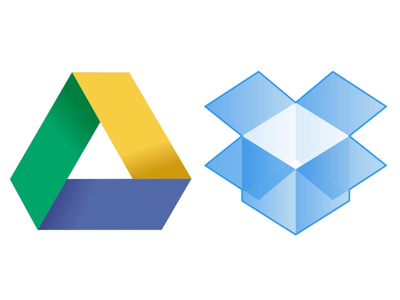 Run Dropbox or Google Drive