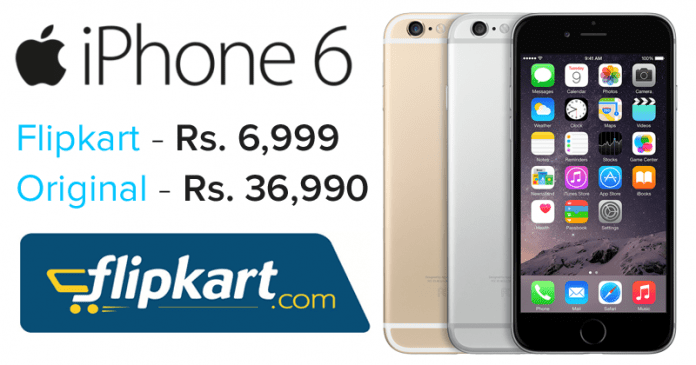You Can Buy iPhone 6 From Flipkart For As Low As Rs. 6,999
