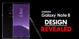 Fresh Leak Just Revealed Samsung's Galaxy Note 8 Design
