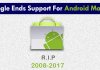 Google Ends Support For 7-Year-Old Android Market