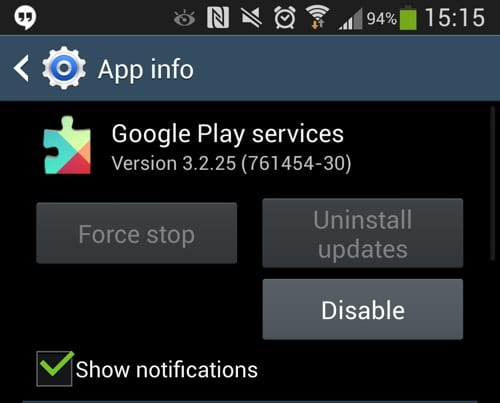 Google Play Services - 10+ Reasons Why Your Smartphone Battery Is Draining Fast