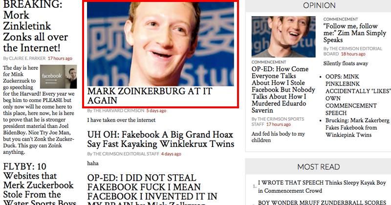 Hacker Trolls Mark Zuckerberg At Harvard In The Ugliest Way Possible